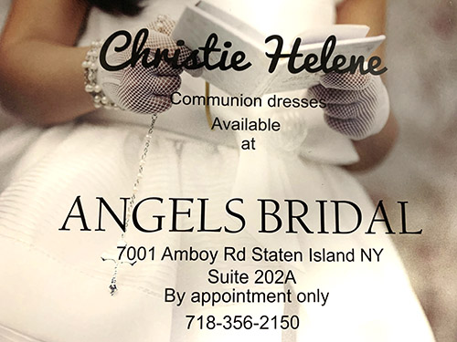 christie helene commuhnion dresses staten island